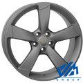 Диски Replica WSP Italy W567 7.5x18 5/100 ET39.5 d57.1 Matt Gun Metal - фото 1