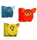 Записная книжка Furby маленькая синий/красный/желтый
