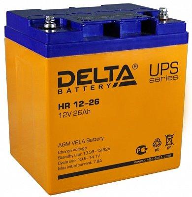 DELTA HR 12-26 Аккумуляторная батарея