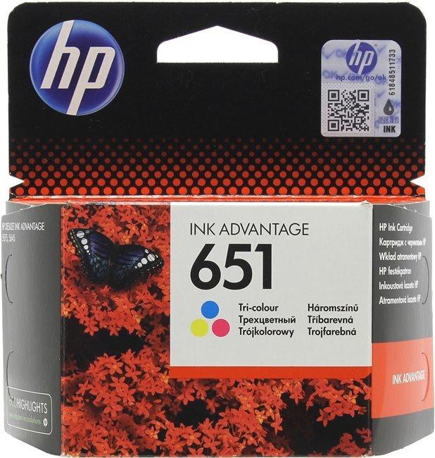 Картридж HP C2P11AE ( 651) (трехцветный)