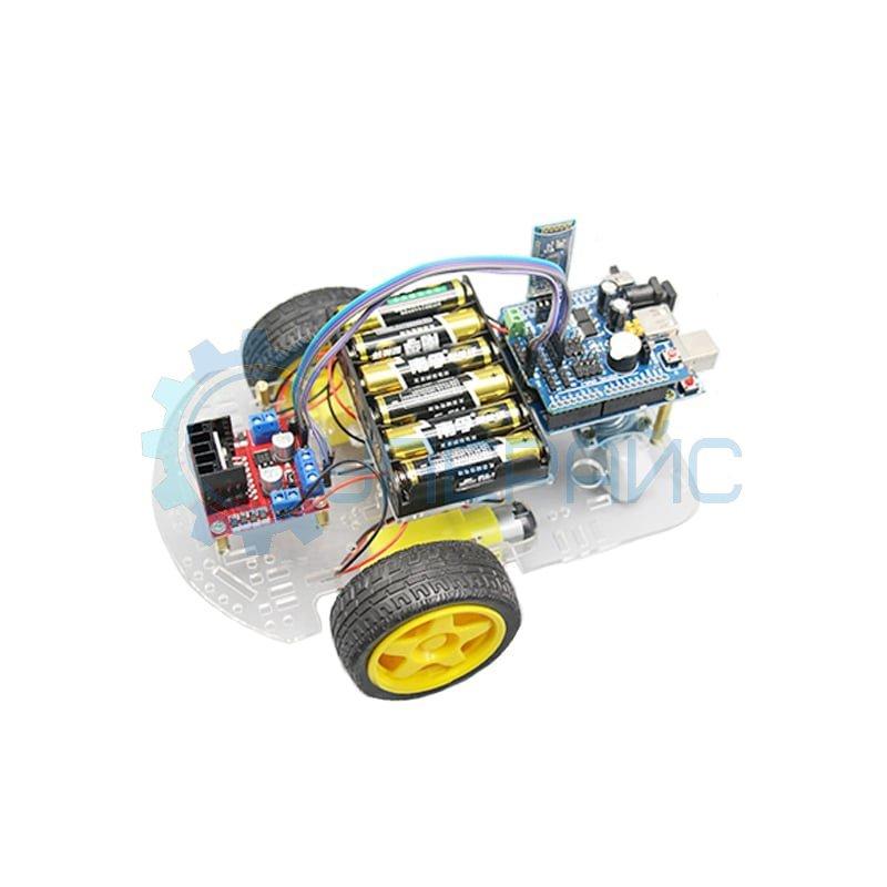 Робототехнический набор для сборки робота Arduino RoboCar-3 Bluetooth