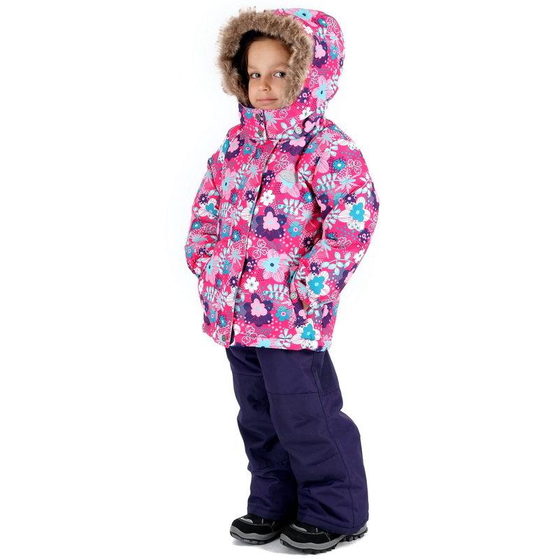Костюм зимний для девочки Premont Цветущий Монреаль, арт. W16116