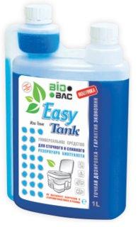 Универсальная жидкость для биотуалета Изи Танк с дозатором 1л