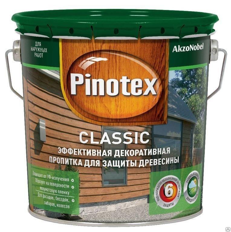Пропитка PINOTEX CLASSIC калужница 2,7 л.