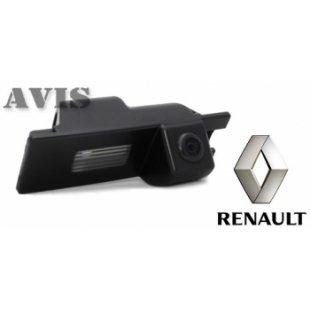 CMOS камера заднего вида для RENAULT SCENIC III (2009-...) (№068)