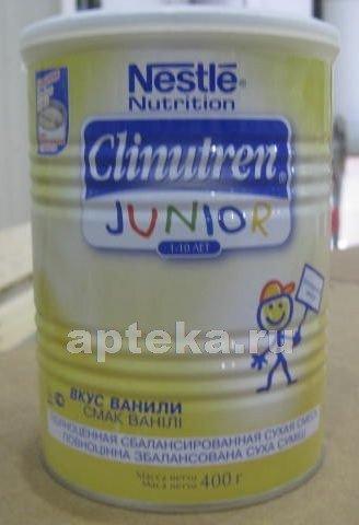 Клинутрен/clinutren junior смесь д/детей 1-10лет 400,0
