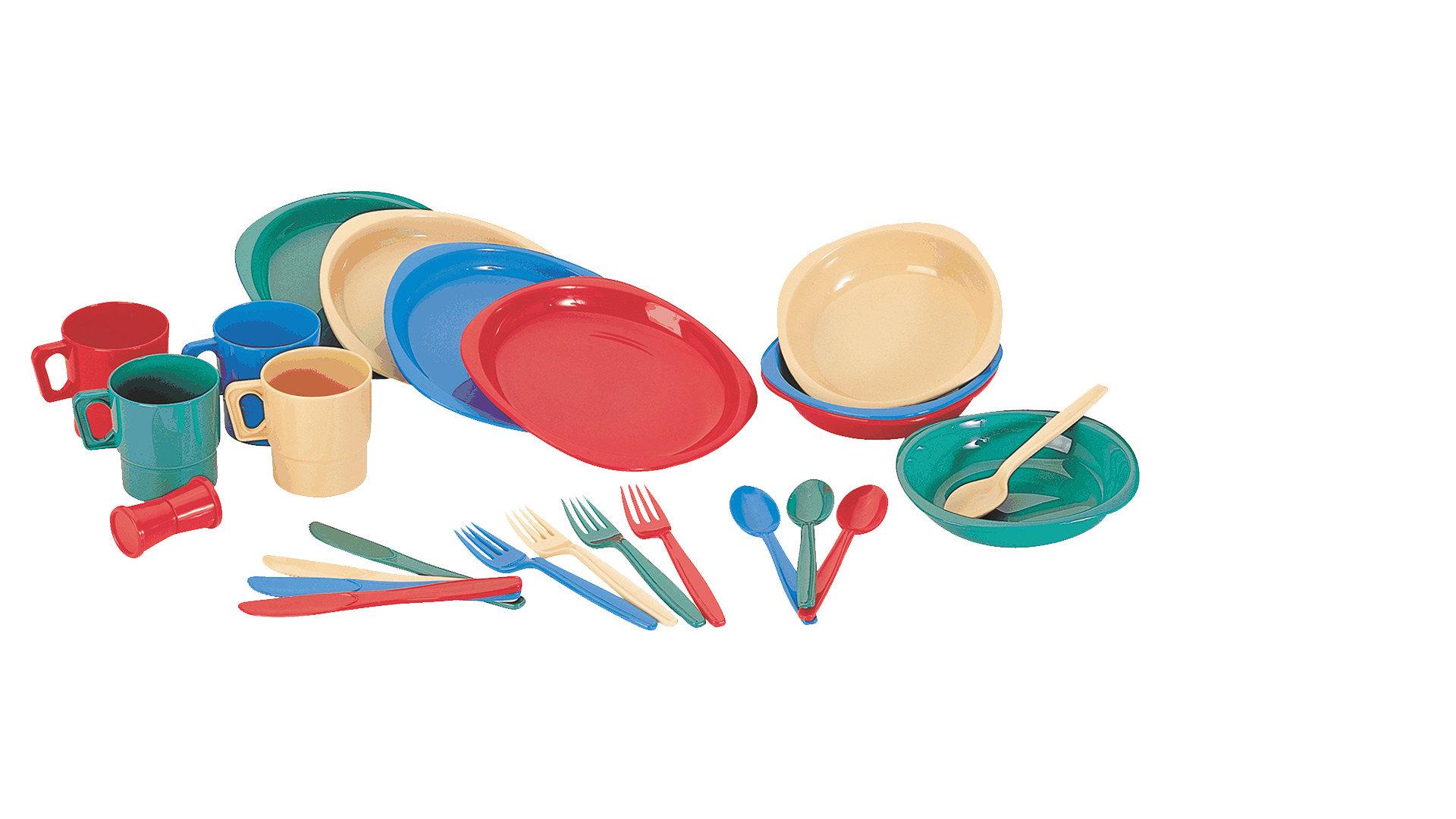Набор пластиковой посуды Tramp на 4 персоны