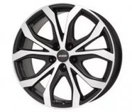Диски Alutec W10X 8,0x18 5x114,3 D70.1 ET40 цвет Racing Black Front Polished - фото 1