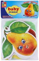 "Мягкие пазлы Baby puzzle Vladi Toys ""Фрукты"""