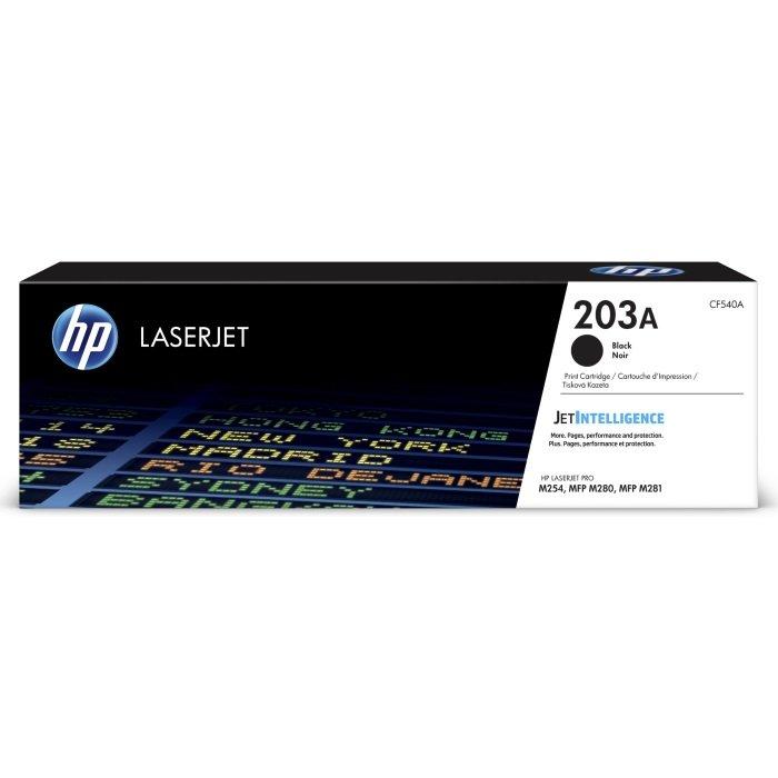 Картриджи, тонеры, фотобарабаны Тонер-картридж HP 203A Black LaserJet оригинальный (CF540A)