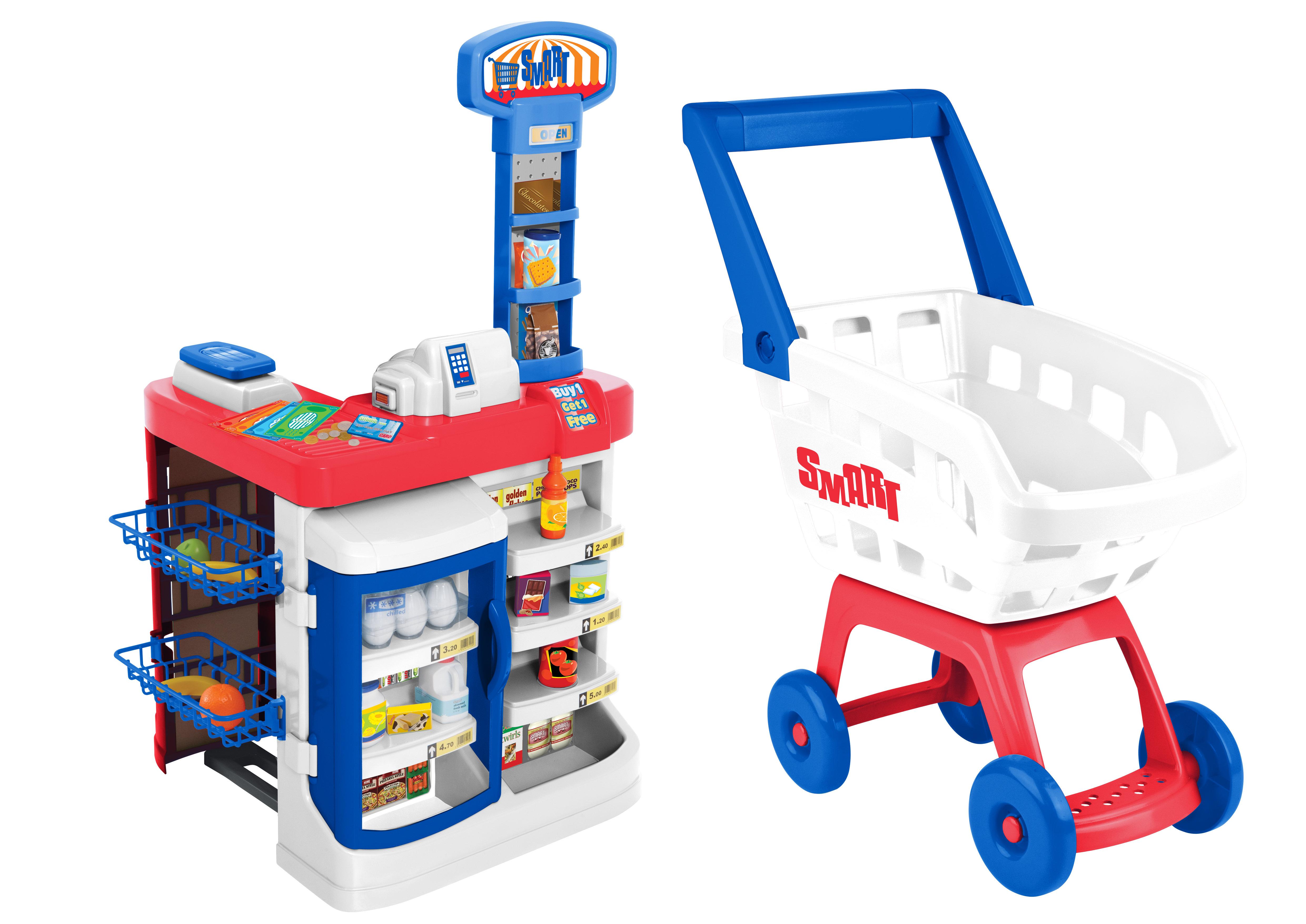 Играем в магазин HTI Супермаркет
