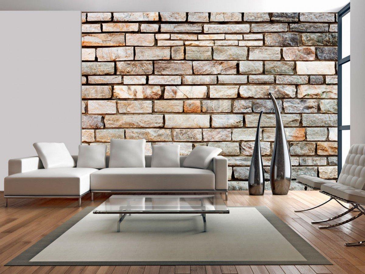 Фотообои «Кирпичная стена», 150x105 см