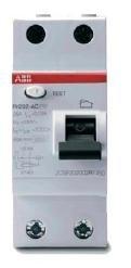 УЗО (устройства защитного отключения) FH202 AC-40/0,03 Блок утечки тока (УЗО) 2-полюс. 40A 30mA, тип АC ABB