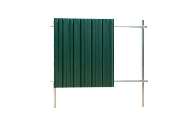 Grand Line забор из профлиста ГрандЛайн Эконом, полимерное покрытие
