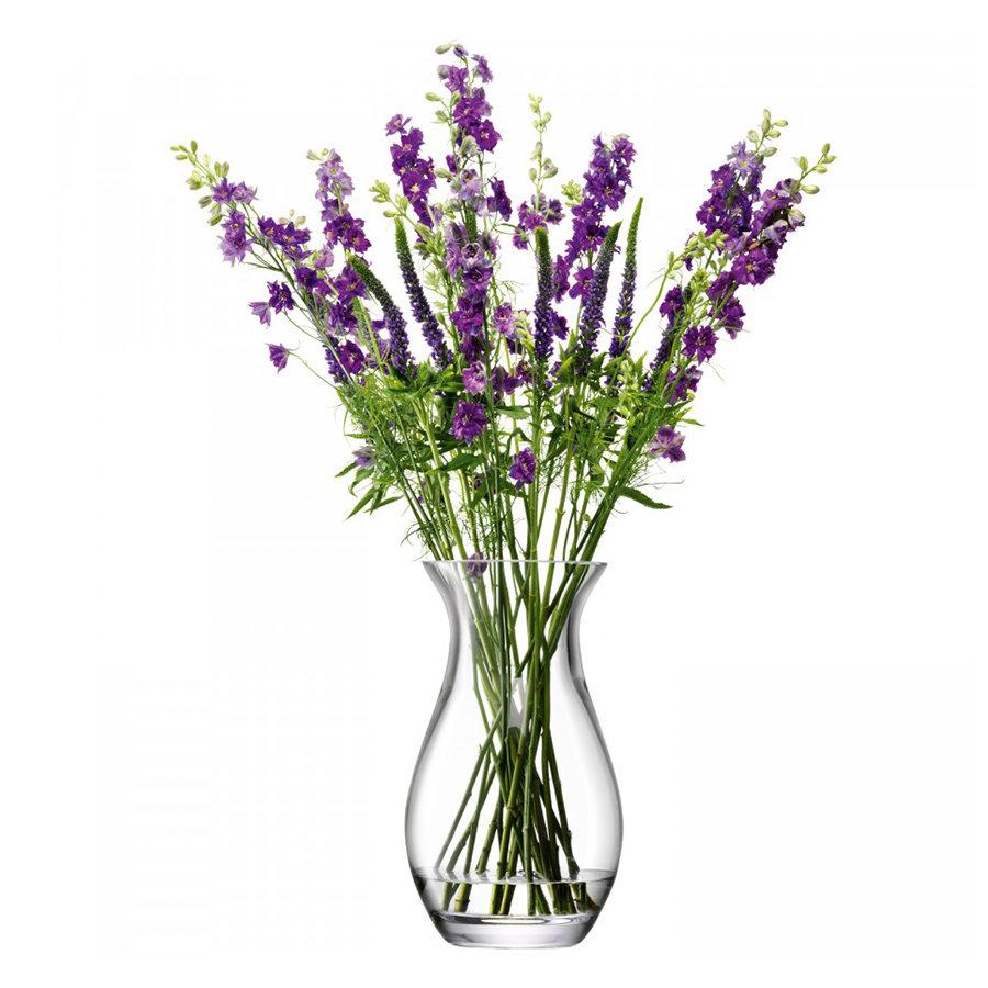 Ваза округлая Flower 32 см LSA