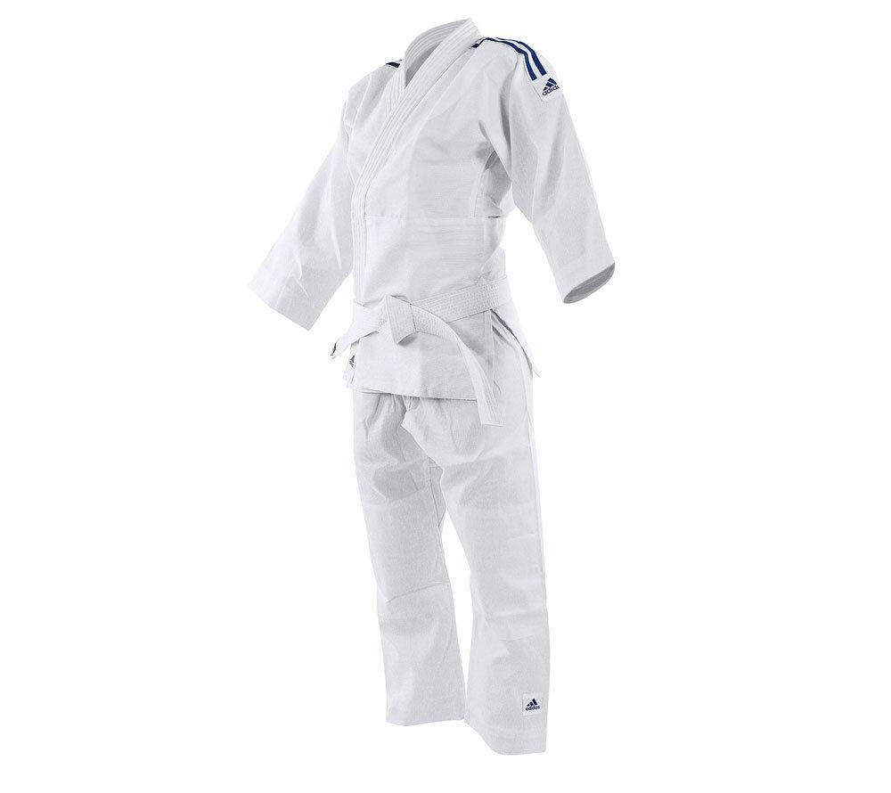 Кимоно для дзюдо подростковое Evolution II белое (размер 120-130 см)