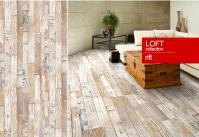Пробковое покрытие, пробковый пол с фотопечатью клеевой CORKSTYLE PRINTCORK Loft, Rift