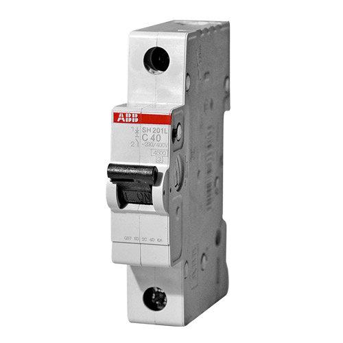 Автоматический выключатель 1-полюсный SH201L C40 ABB
