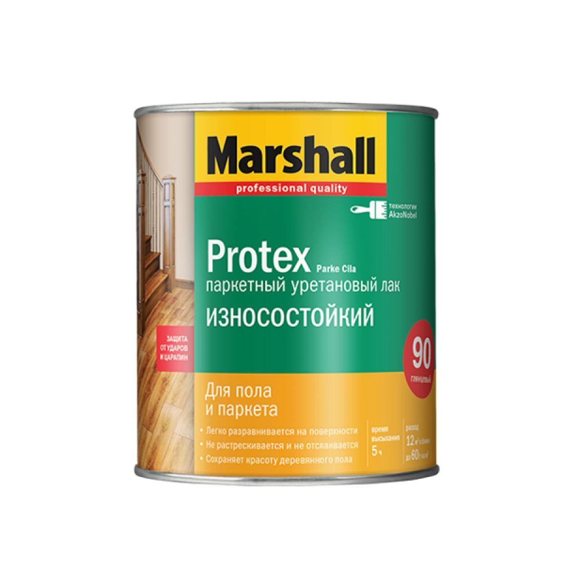 PROTEX PARKE лак алкид уретановый, полуматовый (0,75л)