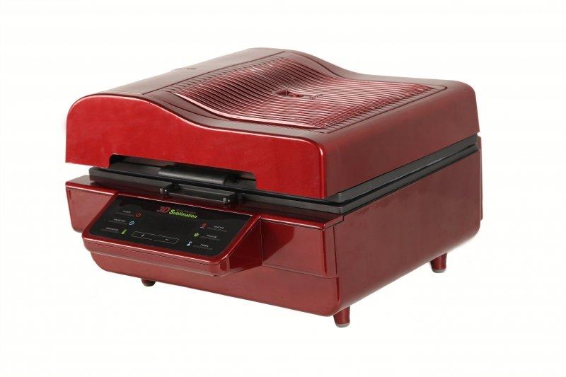 Термопресс вакуумный Bulros T-3D, красный