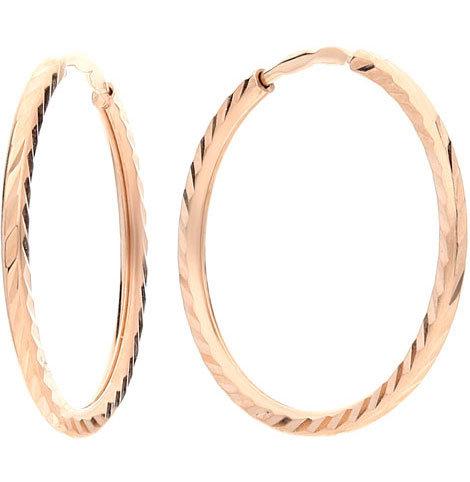 Золотые серьги кольца конго SOKOLOV 140066_s