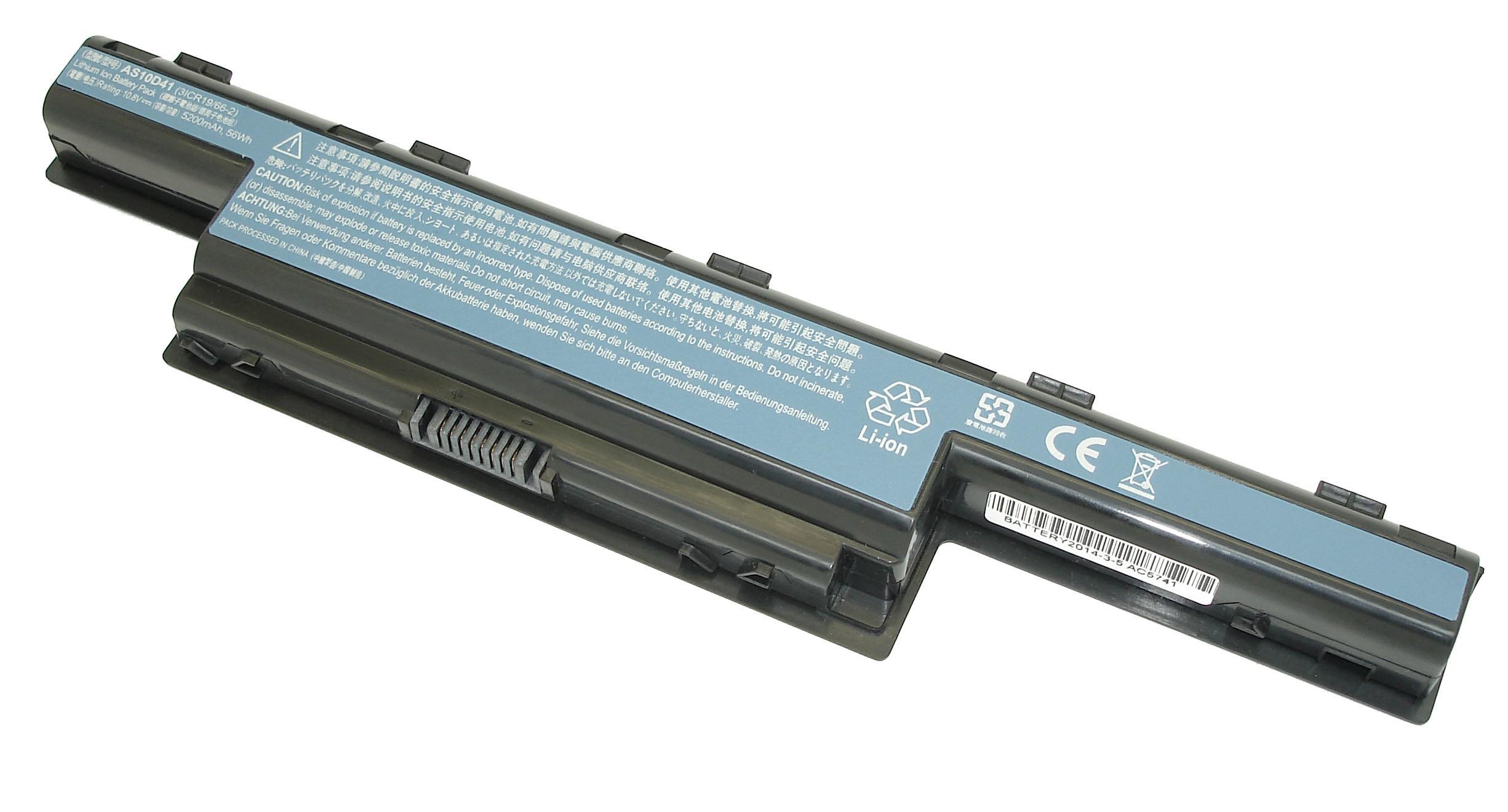 Аккумуляторная батарея для ноутбука Acer Aspire 5741, 5733, 4551, 4741, 4740, 4771 5551 серий