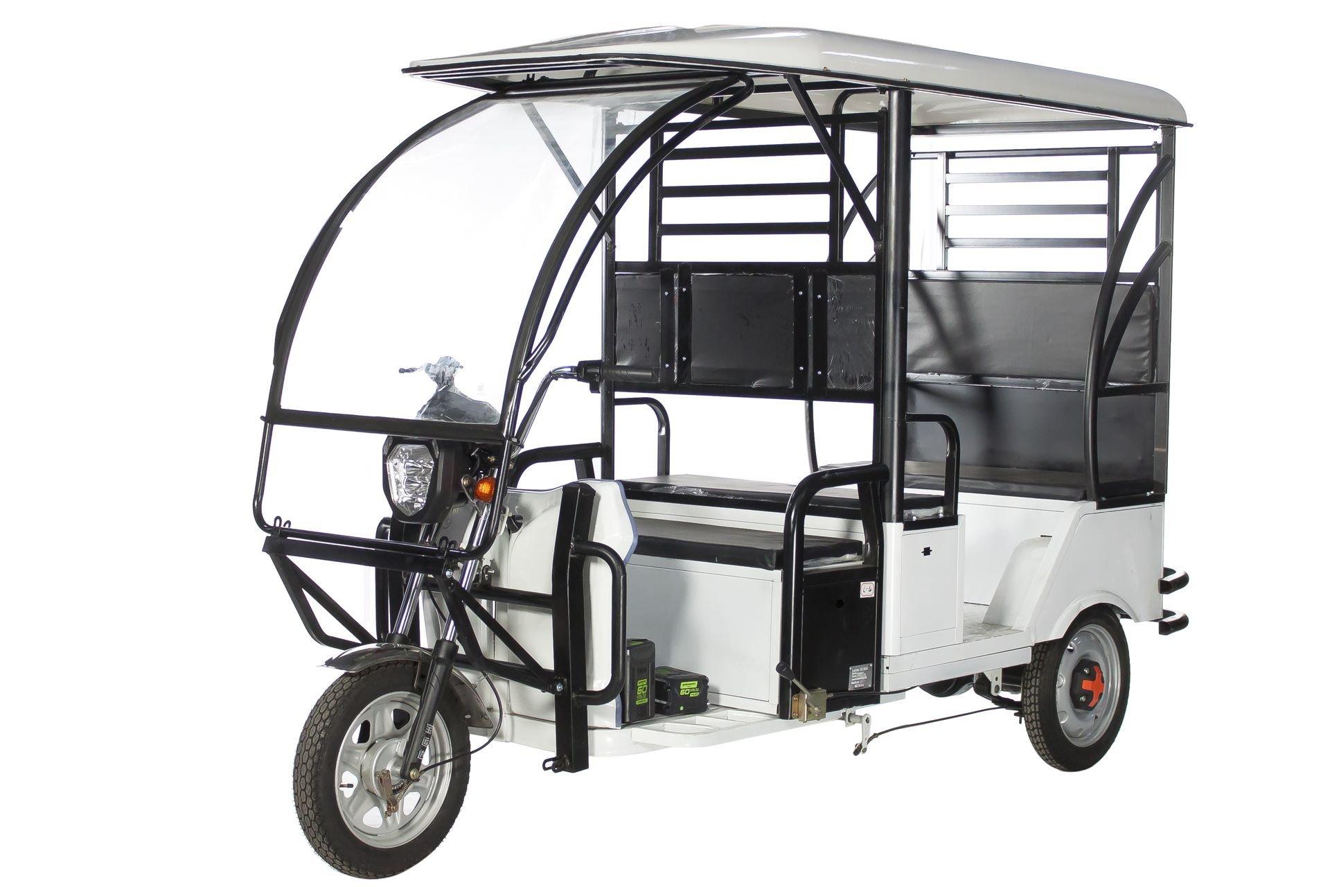 Трехколесный электроскутер OxyVolt Trike Passenger 1000w 60v