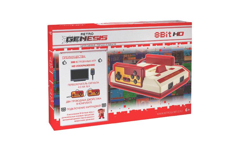 Игровая приставка Retro Genesis 8 Bit HD (300 игр)
