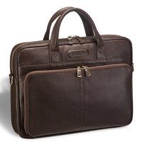 Удобная деловая сумка для документов Brialdi Pasteur (Пастер) relief brown 3a1188b5183