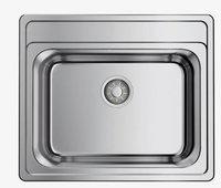 Кухонная мойка Omoikiri Ashi 56-IN нерж.сталь/нержавеющая сталь