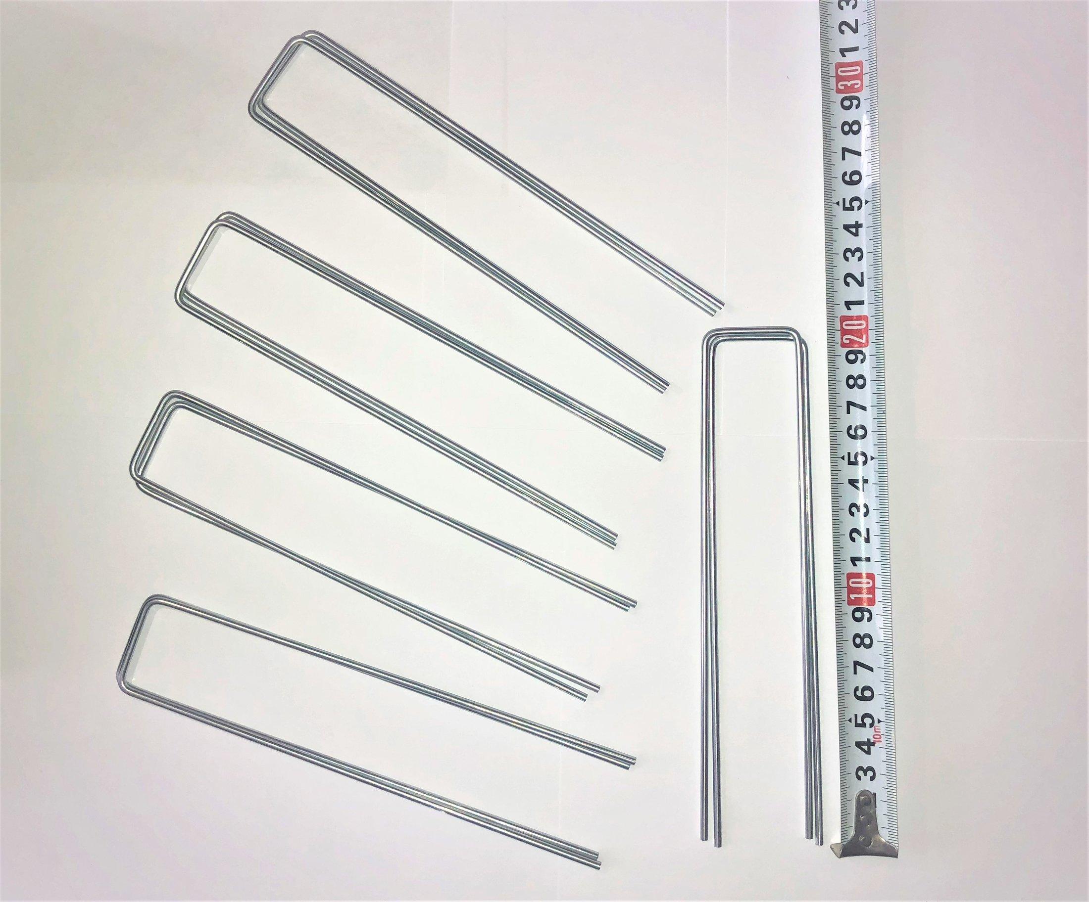 Колышки для укрывного материала 10шт/уп (Высота 20 см)