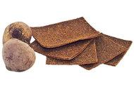 Льняные хлебцы со свеклой