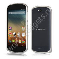 Алюминиевый бампер для YotaPhone 2 (серебряный)