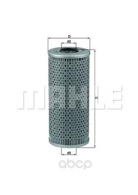 Фильтр масляный bmw 7 e32 5.0i v12 m70b50 87-90 Mahle/Knecht арт. OX121D