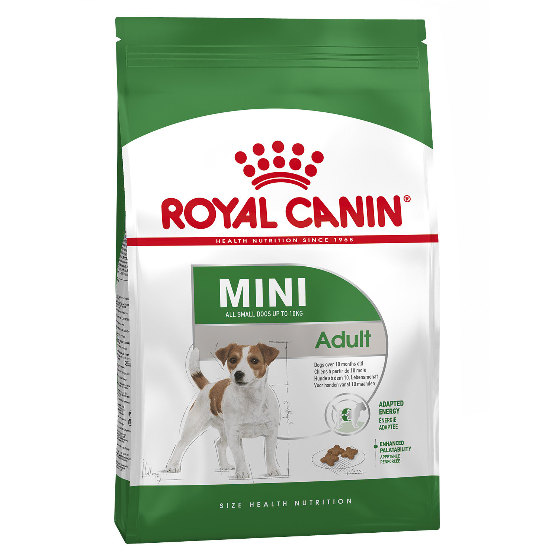 Корм для собак ROYAL CANIN (Роял Канин) Size Mini Adult для мелких пород с 10 месяцев до 8 лет сух. 4кг