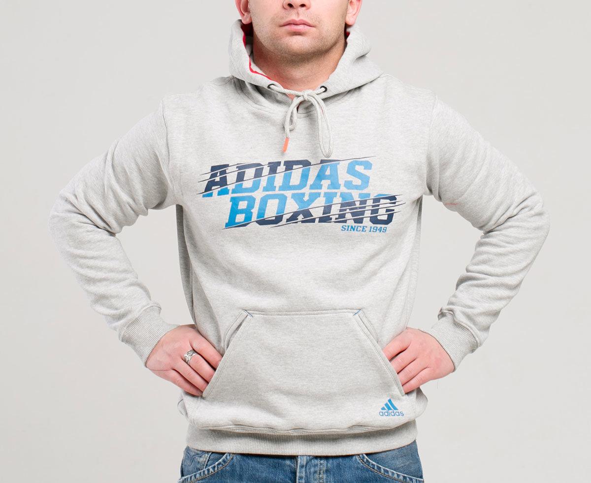 huge discount 0fc3a 14961 Толстовка с капюшоном (Худи) Graphic Hoody Boxing серая …