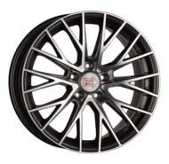 Диски R18 5x120 8J ET42 D72,6 1000 Miglia MM1009 Dark Anthracite Polished - фото 1