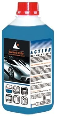 Сильно концентрированное моющeе средство AVANT Active 1л