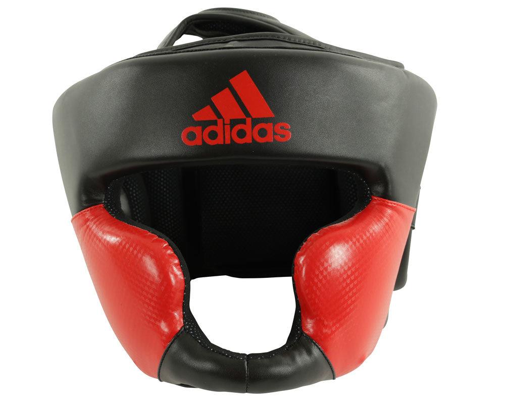 Шлем боксерский Response Standard Head Guard черно-красный (размер L)