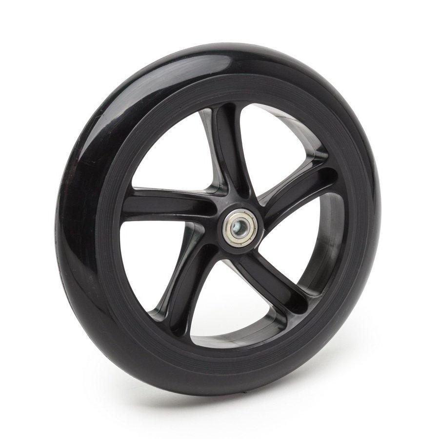 Колесо для самоката SCOOTER 120 мм, полиуретан, черное