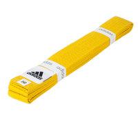 Пояс для единоборств Club желтый (длина 300 см)