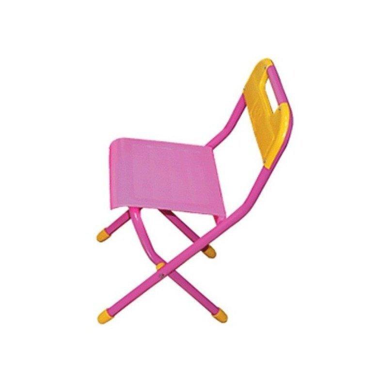 Стул детский складной Дэми №3, цвет:розовый