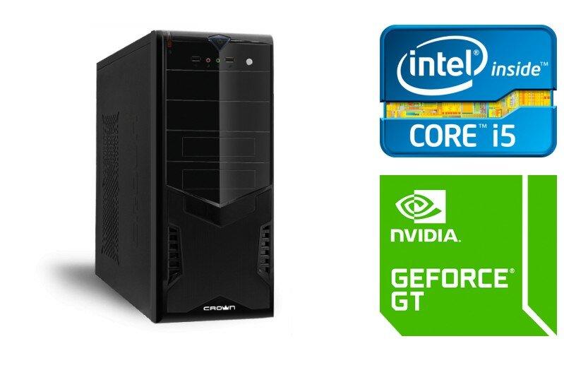 Игровой системный блок TopComp MG 5356192 (Intel Core i5 2400 3.1 ГГц, DDR3 1 Гб 1333 МГц, 8 Гб NAND-Flash , GeForce GT 730 1024 Мб, No DVD, Без ОС)