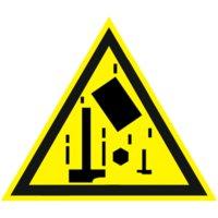Предупреждающий знак Осторожно. Падающие предметы