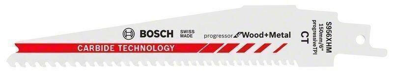 Пильное полотно для ножовки S 956 XHM Carbide Progressor for Wood and Metal (-1-), BOSCH 2608653099