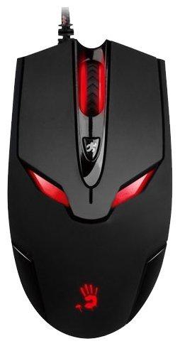 Мышь A4Tech Bloody V4 game mouse Black USB