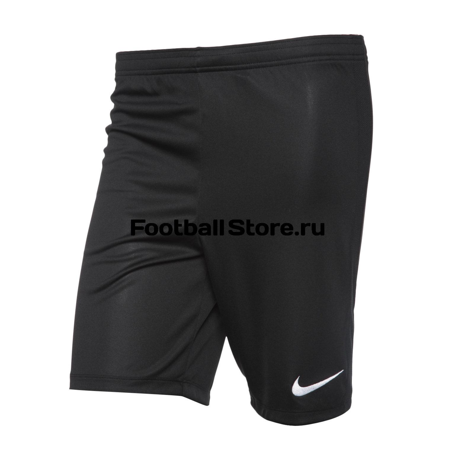 Шорты футбольные Nike Dry Academy18 Knit Shorts, M, черный, синтетика