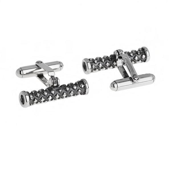 Серебряные запонки WPC019