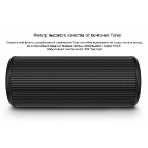 Аксессуары для климатического оборудования Сменный фильтр Xiaomi scg4010cn для очистителя воздуха Mi Car Air Purifier (Black)