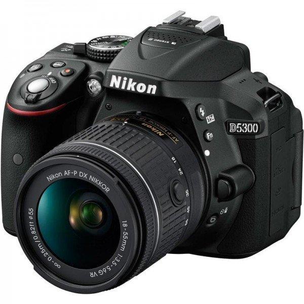 Зеркальный фотоаппарат Nikon D5300 Kit AF-P 18-55 VR